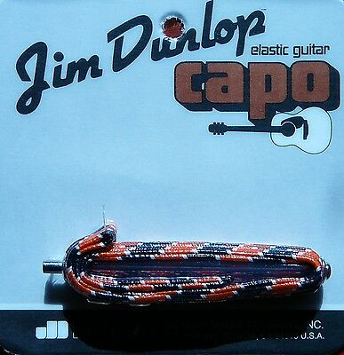 Jim Dunlop Guitar Capo 70 F..  For  guitars with flat  Fingerboards.
