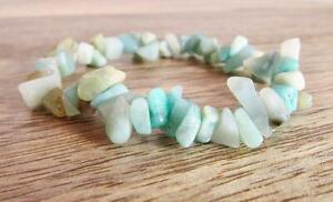 Amazonite-Stone-Bracelet-Healing-Crystal-Chakra-Reiki-Yoga-Natural-Gemstone
