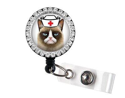 Cute quote badge reel Retractable bling nurse name badge holder.Bling badge reels.