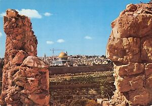 BR49827 view of the dome of the rock mt of olives jerusalem    Israel