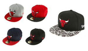 New-Era-NBA-Chicago-Bulls-Fullcap-Berretto-Michael-Jordan-Fitted-Pallacanestro