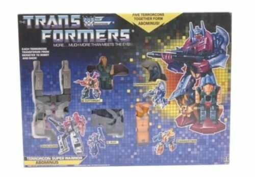 Top TRANSFORMERS G1 BEAST HUNTERS ProtACONS RISING ABOMINUS Kinder Spielzeug