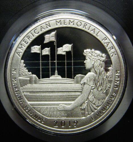 2019-S Northern Mariana Islands National Park Silver DCAM Proof Quarter