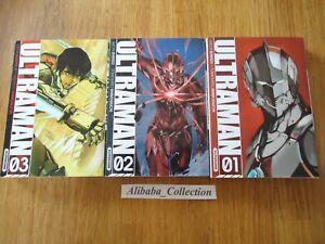 LOTE-MANGA-VF-Ultraman-1-2-3-SHIMIZU-Eiichi-Kurokawa