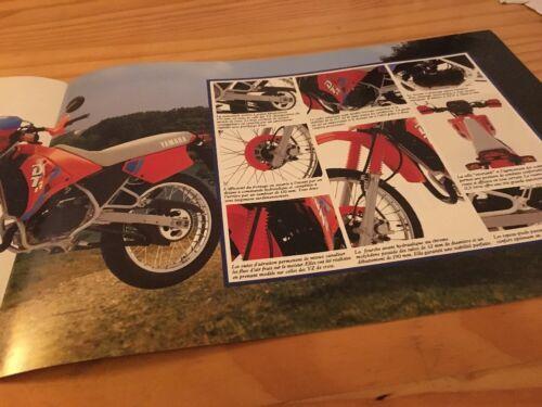 Yamaha DT50R DT50 R dt 50 R-Prospekt Motorrad Broschüre Prospekt Katalog