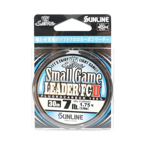 8003 Sunline Fluorocarbon Small Game Leader FC II 30m 7lb