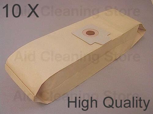 10x Nilfisk PAPER DUST BAGS Cubic GD930 GD930S GD930S2 GD930Q GD940 APBC90