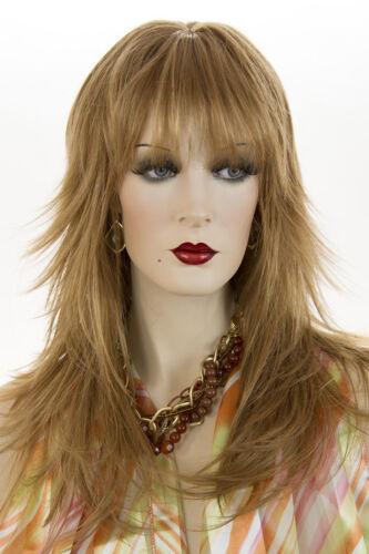 Light Strawberry Red Long Medium Skin Top Straight Wigs