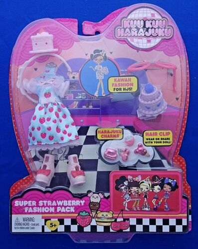 KUU KUU HARAJUJU doll fashion pack clothes accessories charms Mattel