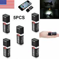 5-Count Blocklite 9 Volt 24-36 Lumen Compact Mini LED Flashlights