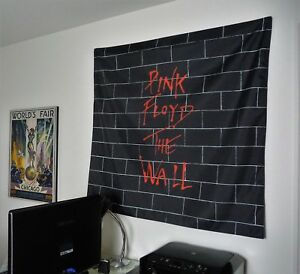 PINK-FLOYD-The-Wall-HUGE-4X4-BANNER-fabric-poster-tapestry-cd-album-wall-decor