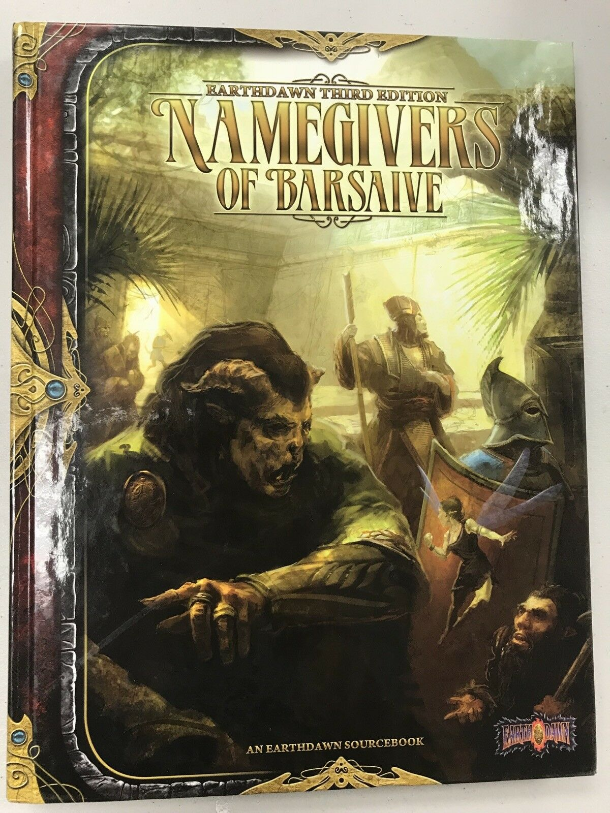 The Namegivers of Barsaive Hardcover - Earthdawn - New - Free Shipping