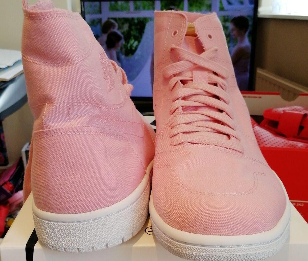 Nike Air Jordan Jordan Jordan 1 Retro High Decon Sheen Blanc Vachette  Chaussures de sport pour hommes et femmes e3fe21