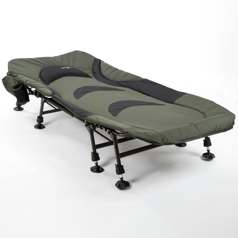 Mostal Relax Karpfenliege 8-Bein Angelliege Deluxe Gästebett Anglerliege Liege