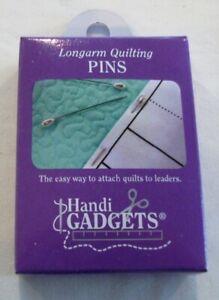 "Handi Gadgets Longarm Pins, 144 per box, 2"" long"