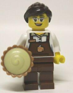 Lego® Figur Oma mit Kuchen aus Weihnachtsbäckerei Christmas Minifig new