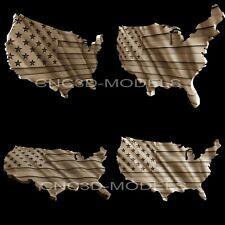 3d Stl Models For Cnc Artcam Aspireusa Flagunited States Of America Flagaf1