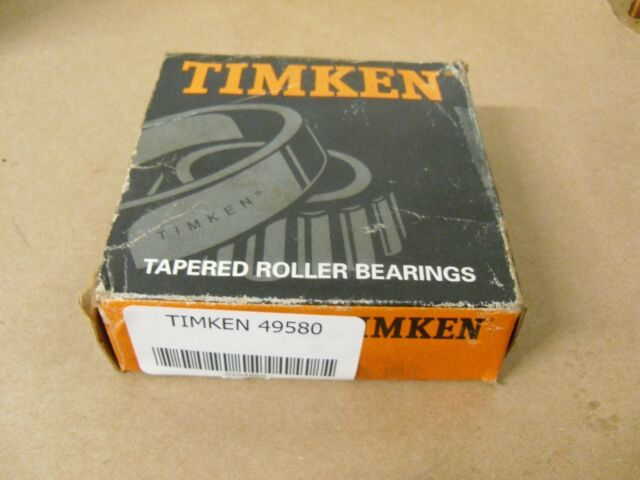 NEW TIMKEN TAPERED ROLLER BEARING CONE 49580