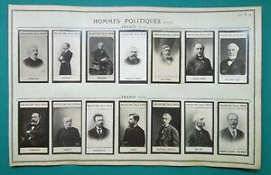 1900-14-PORTRAIT-PHOTOS-France-Politicians-Freycinet-Gambetta-Deschanel-etc