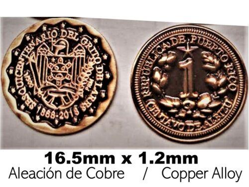 1 /& 5 CENTAVOS ALBIZU 150yr GRITO DE LARES 1868 2018 PUERTO RICO 2 Coin Mint Set