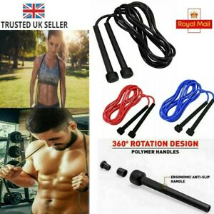 Speed Skipping Rope Boxing Jumping Cross-fit Weight-Loss Workout Girls Fitness