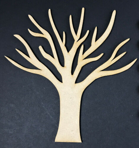 MDF Wooden Tree Shape Blank Craft Family Tree Frame Wedding Family Tree BRANCH