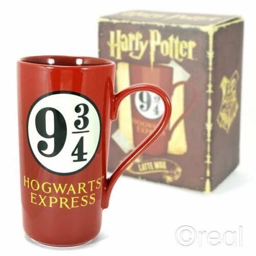 New Harry Potter Platform 9 3//4 Hogwarts Express Latte Mug Coffee Crest Official