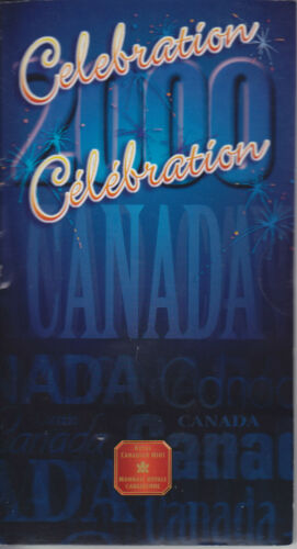2000 Twenty Five Cents Celebration Coloured Canada Quarter Sealed from RCM