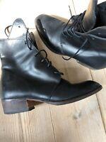 Støvler, str. 35, Scarpa MOMA, Sort, Læder