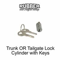 1958 1959 Edsel Trunk Lock Cylinder With Keys