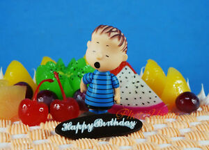 Peanuts-Snoopy-and-Friends-LINUS-Decoration-Figure-Cake-Topper-K1021-F