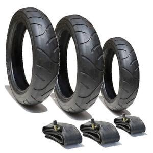 Conjunto De Neumáticos /& Tubos Para Out n sobre Cochecitos de 12 1//2 X 2 1//4 Gratis 1ST Clase