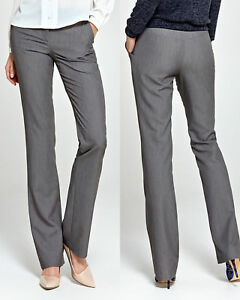 pantalon bootcut femme gris habill tendance mode nife. Black Bedroom Furniture Sets. Home Design Ideas