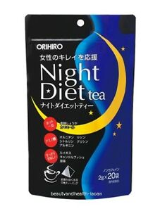 Japan Orihiro Night Diet Tea 2g X 20pcs Beauty Health Care