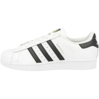 Adidas Superstar J Schuhe white black C77154 Retro Sneaker