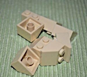 10 Tan 2x2 Standard Plate Bricks ~ Lego ~ NEW ~ Star Wars