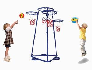 Entraîneur multi de cible de basket-ball de forme physique pour enfants - pliable avec le sac de rangement