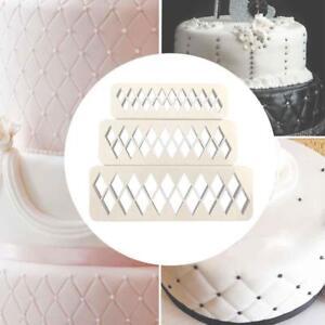 3x-Diamond-Fondant-Cookie-Cutter-Cake-Biscuit-Mold-Fondant-Decor-Baking-Tools