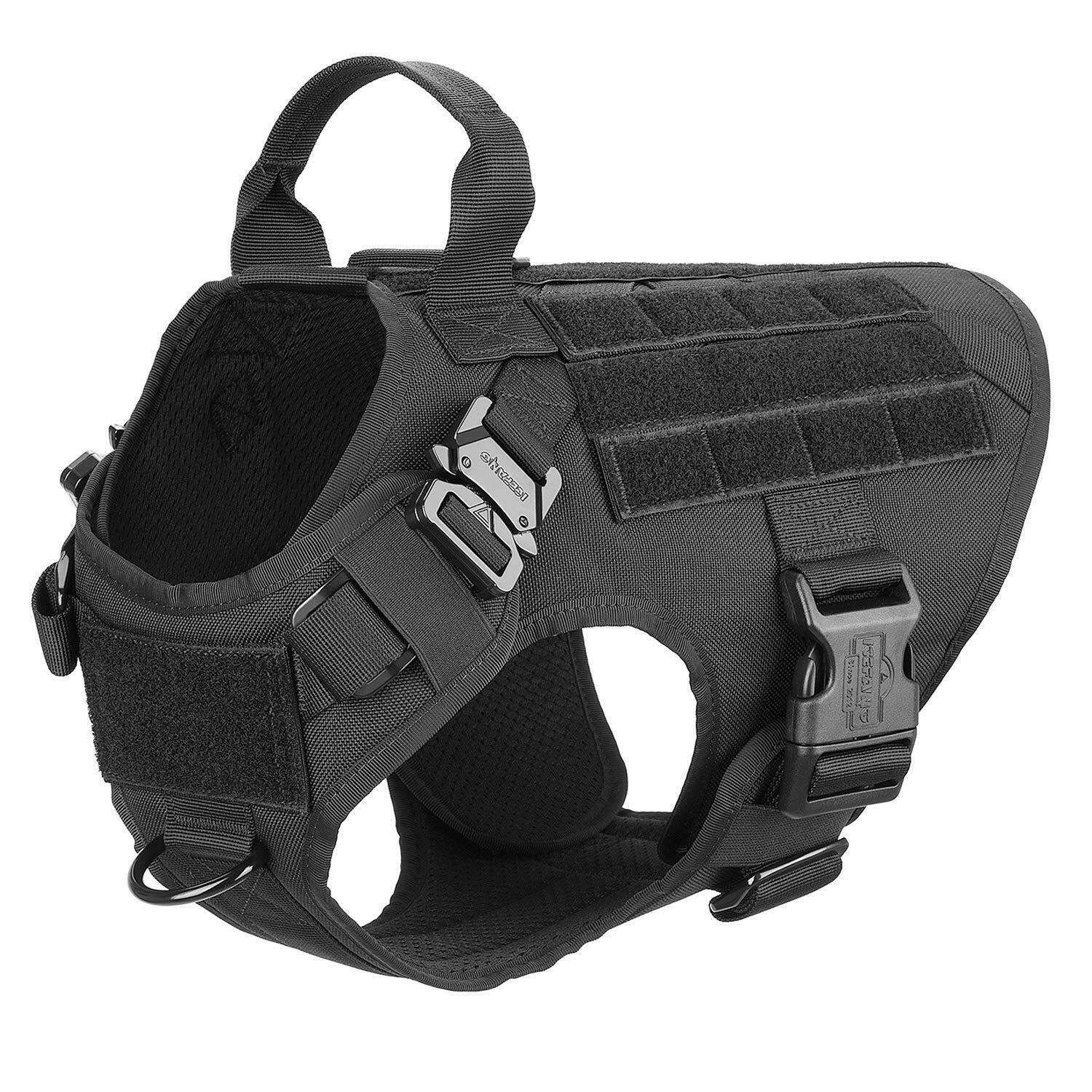 NEW Tactical  Dog Harness,K9 Working Dog Vest FREE SHIPPING  cheap sale outlet online