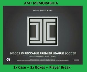 Paul Pogba Manchester 2020/21 Panini Impeccable 1X CASE 3X BOX BREAK #3
