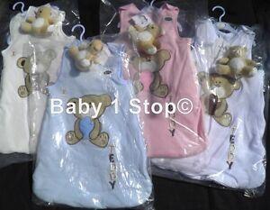 0-6 ou 6-12 mois bebe Sac de couchage & Ours en peluche coton doux 2.5 habiller