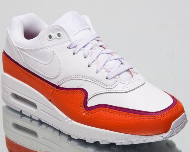 air max 1 white orange