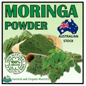 100-Certified-Organic-MORINGA-OLEIFERA-Leaf-Powder-Various-Sizes-Available