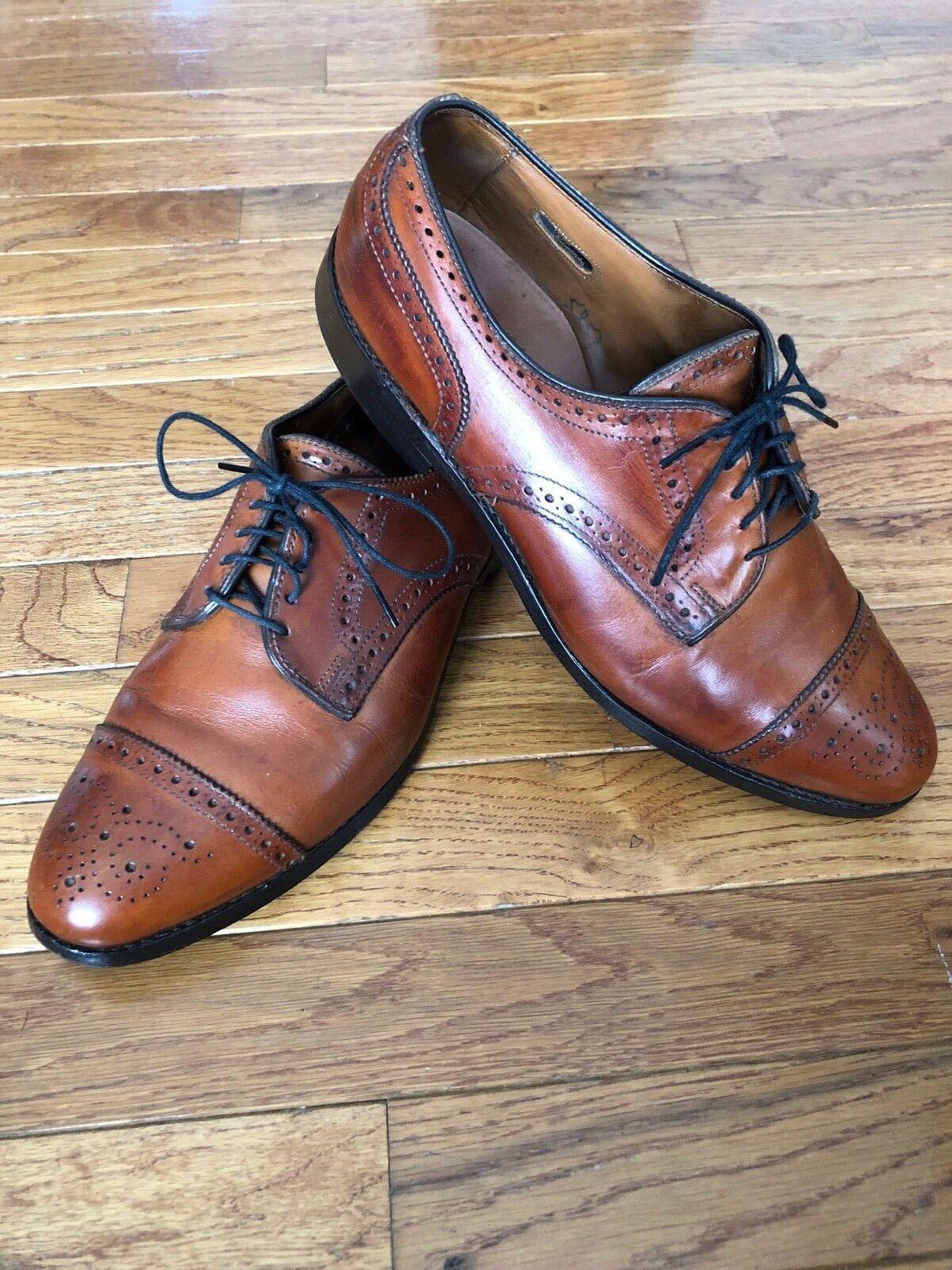 Allen Edmonds Sanford Chestnut Brown Mens Shoe 8 … - image 3