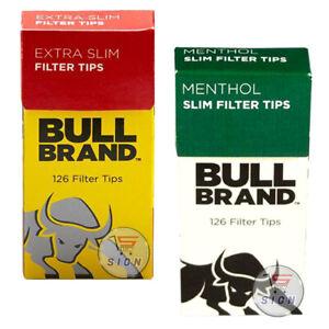 BULL-BRAND-EXTRA-SLIM-amp-EXTRA-SLIM-MENTHOL-FILTER-TIPS-SMOKING-BOXES-ORIGNAL