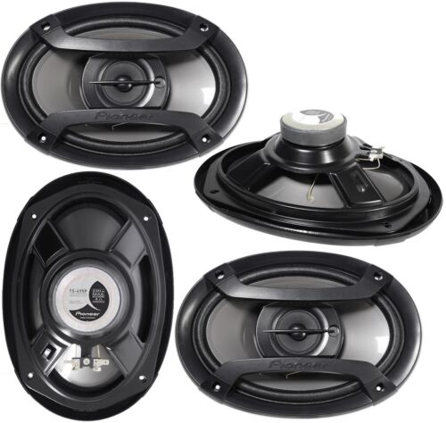"Pioneer TS-695P 6x9 3 Way Car Stereo  Speakers Speaker TS695P 6/"" x 9/"" 2 PAIR 4"