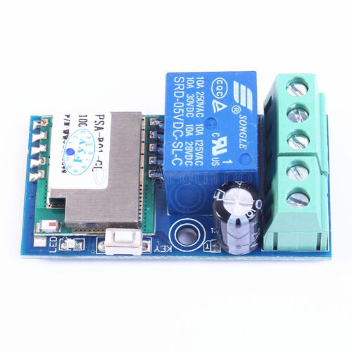 Low Power DC 12V Wifi Relais Modul Wireless Relay Switch Module Jog Mode