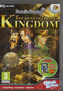 GSP-NATALIE-BROOKS-TREASURES-FROM-THE-LOST-KINGDOM-PC-CD-ROM