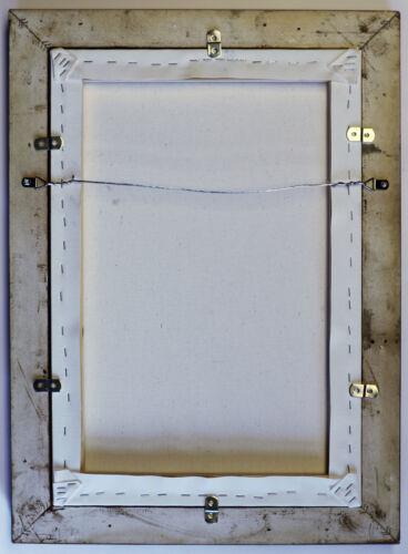 Lorrain Embarkation of St Paula Wood Framed Canvas Print Repro 8x10