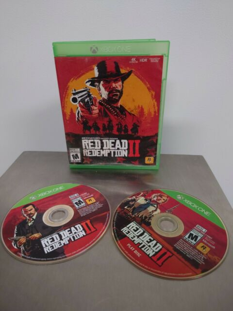 Red Dead Redemption II 2 (Microsoft Xbox One, 2018)